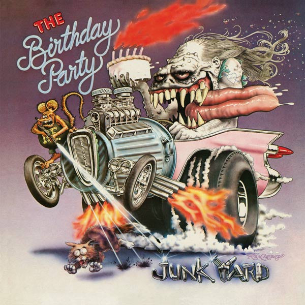 THE BIRTHDAY PARTY 'JUNKYARD' (REISSUE) LP