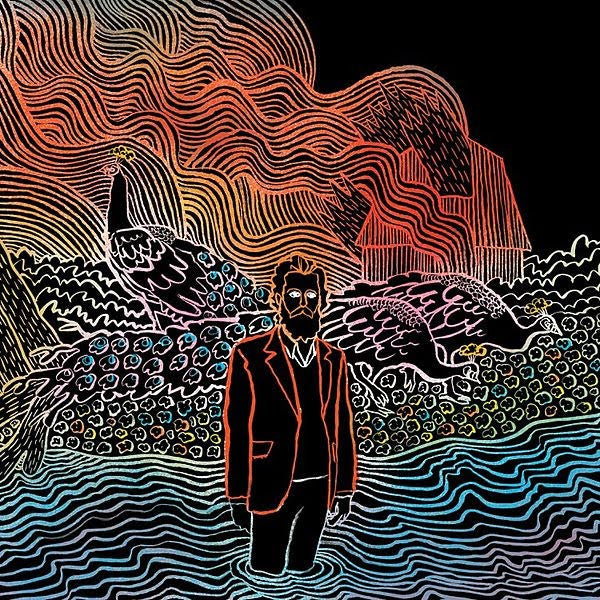 IRON AND WINE 'KISS EACH OTHER CLEAN' LP