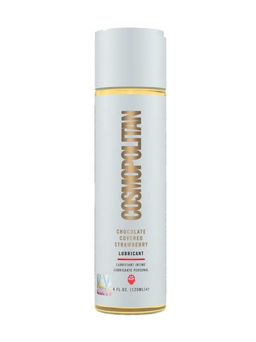 Image of cosmopolitan choc covered strawberry lube 4oz