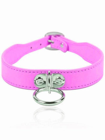 Image of berlin baby collar pink