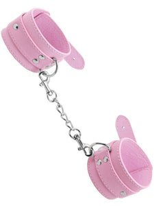 berlin baby unlined wrist cuffs pink
