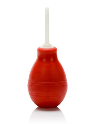 anal douche with red bulb