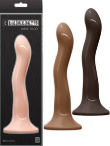 elements wave 6inch dildo three colours available