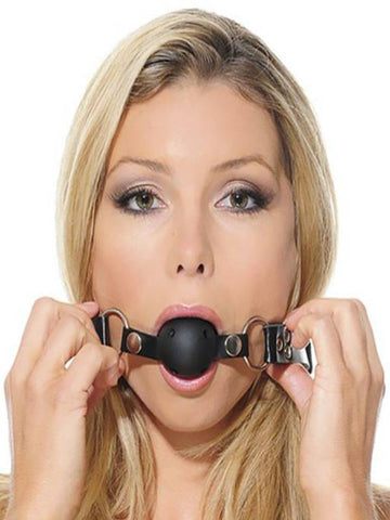 Image of fetish fantasy ball gag training system fetish fun
