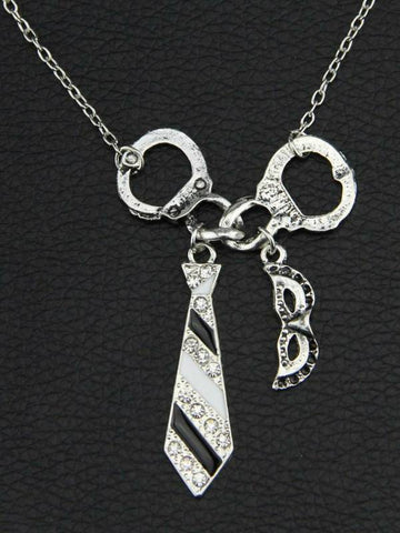 Image of fifty shades of grey necklace