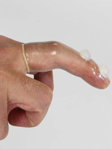 Image of finger condoms dual pleasure nubs