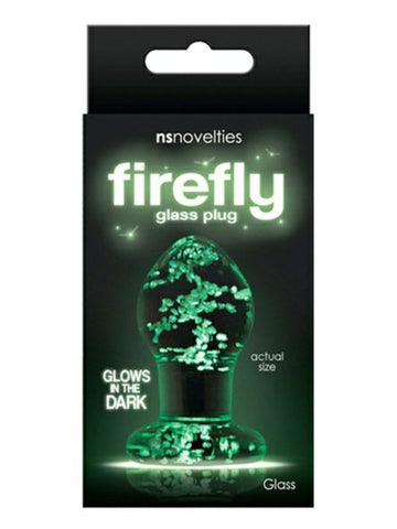 Image of firefly glass plug packaging