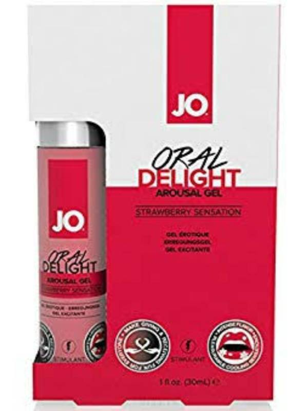 jo oral delight strawberry packaging