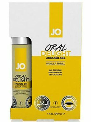 Image of jo oral delight vanilla packaging