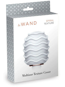 le Wand Spiral Textured Cover