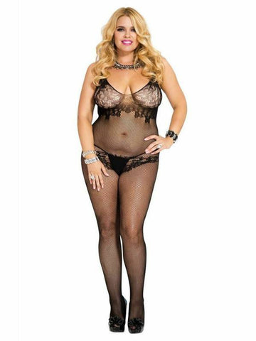 Image of music legs body stocking 1750q front