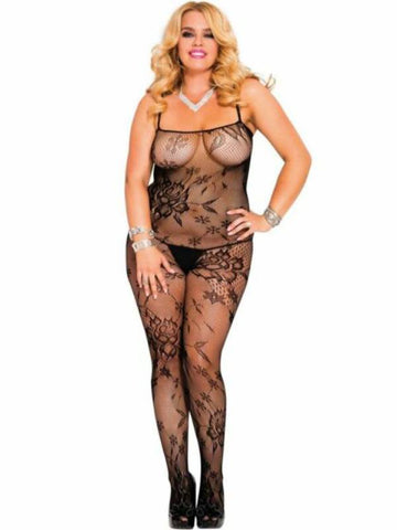 Image of music legs body stocking 1444q front view