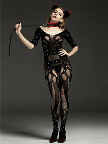 Image of rimes body stocking 7095 front