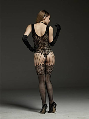 Image of rimes body stocking 7107 back