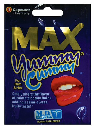 Image of Yummy Cummy semen flavour enhancer