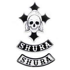 SHURA 3 PIECE STICKER SET