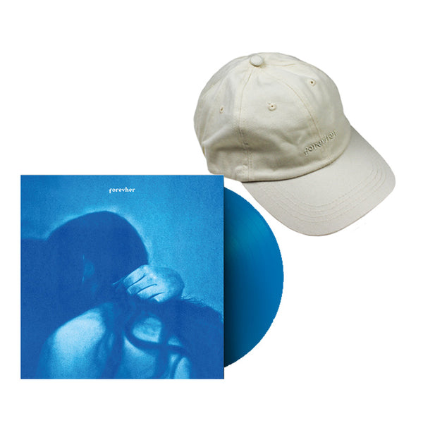 FOREVHER BLUE VINYL AND CAP BUNDLE