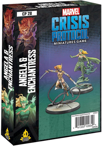 Angela & Enchantress - Marvel Crisis Protocol