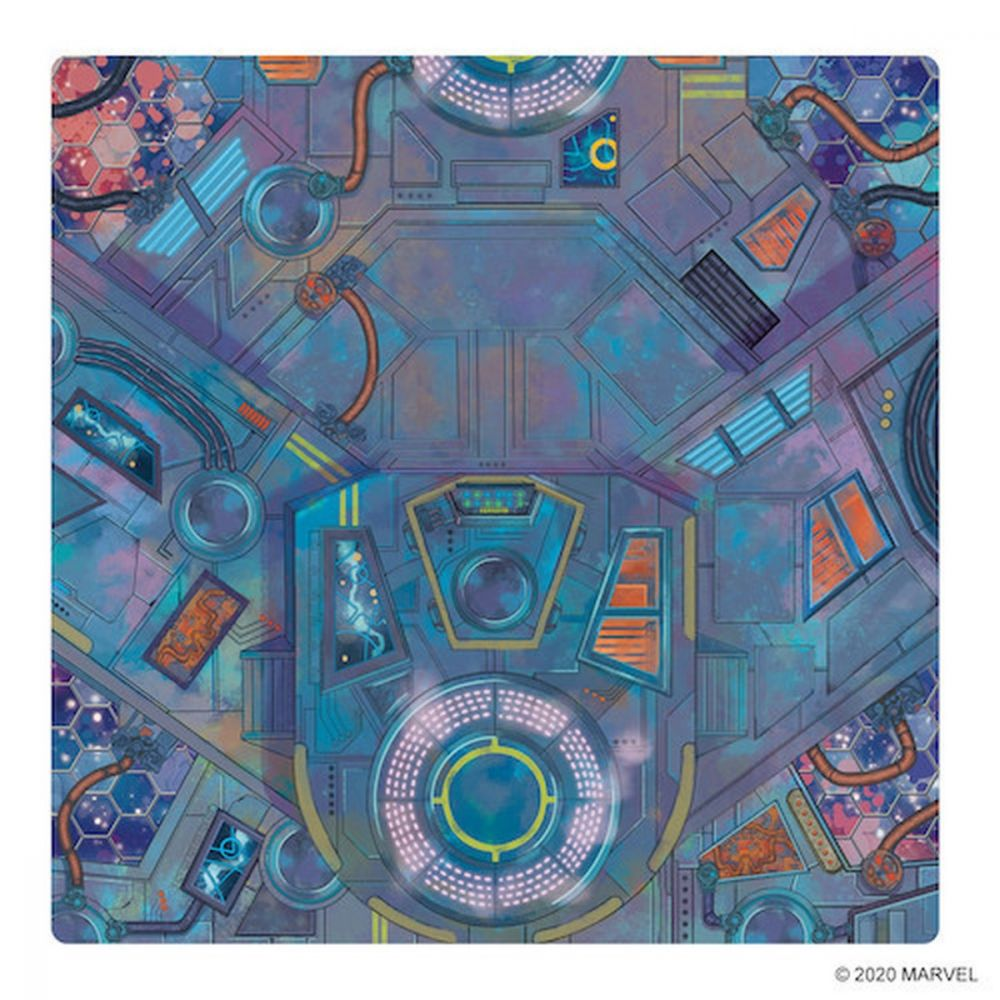 Spaceport Showdown Game Mat - Marvel Crisis Protocol