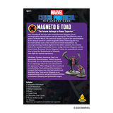 Magneto and Toad - Marvel Crisis Protocol