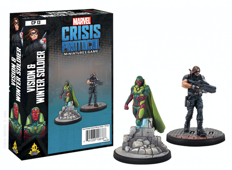 Vision and Winter Soldier - Marvel Crisis Protocol