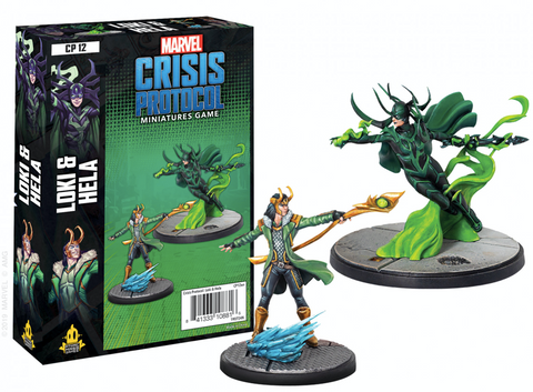 Loki and Hela - Marvel Crisis Protocol