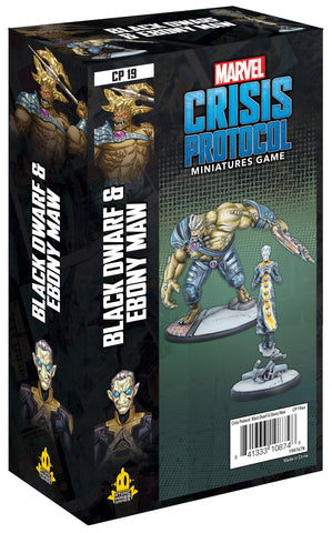Black Dwarf and Ebony Maw - Marvel Crisis Protocol