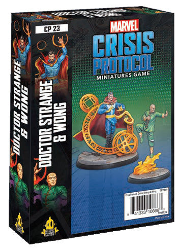 Doctor Strange and Wong - Marvel Crisis Protocol