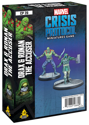 Drax and Ronan the Accuser - Marvel Crisis Protocol