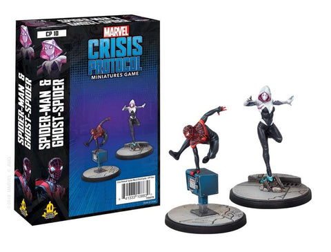 Ghost-Spider and Spider-Man - Marvel Crisis Protocol