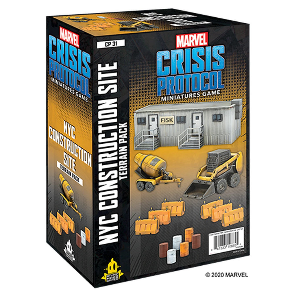 NYC Construction Site Terrain Pack - Marvel Crisis Protocol