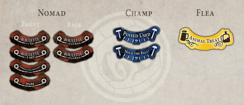 Champ Tokens - Muse on Minis