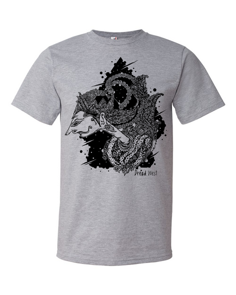 DreadWest Wayang - men's short sleeve t-shirt
