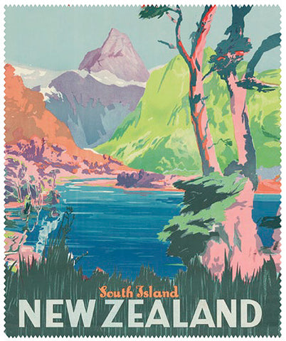 Lens Cloth - South Island New Zealand
