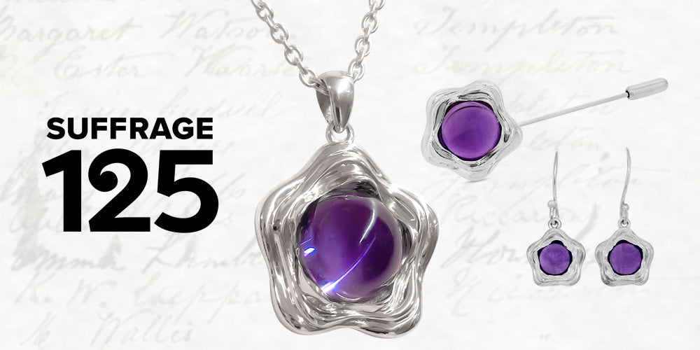 Suffrage 125 Jewellery Collection