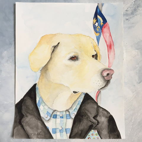 Pet Portrait -original artwork
