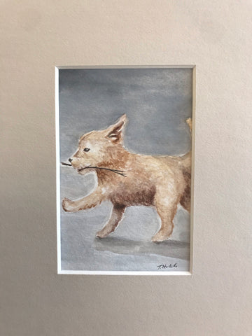 The Fool - Original Watercolor Painting