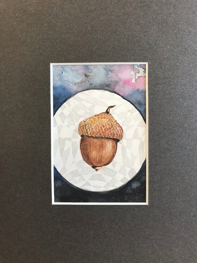 The World  - Original Watercolor Painting