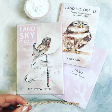 Land Sky Oracle: A Journey through the 8 Limbs of Yoga