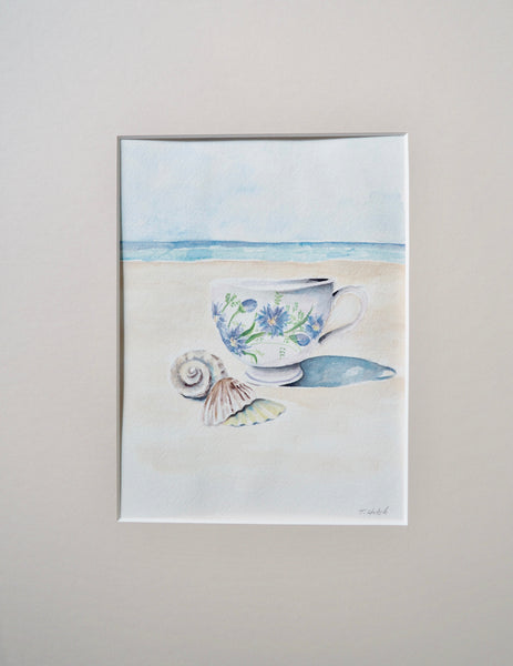 Tea Cup on the Shore
