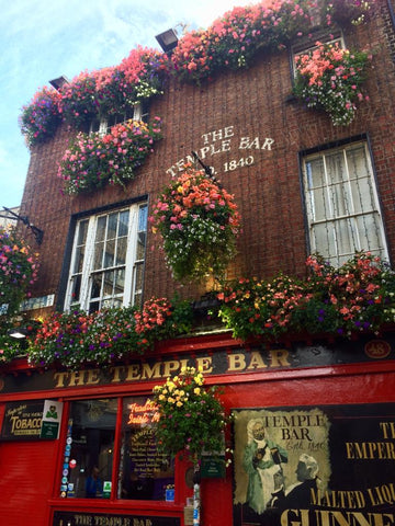Front view of The Temple Bar, Dublin.