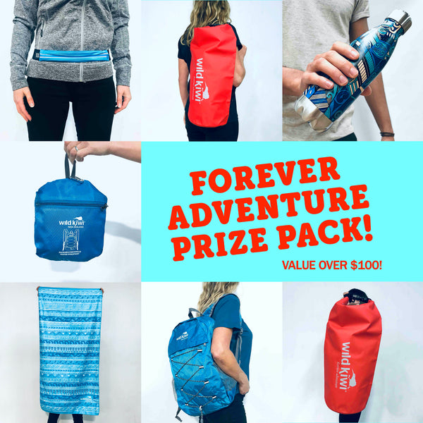 Wild Kiwi Forever Adventure Prize Pack