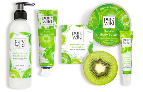 purewild.co.nz New Zealand Skincare_kiwifruit products