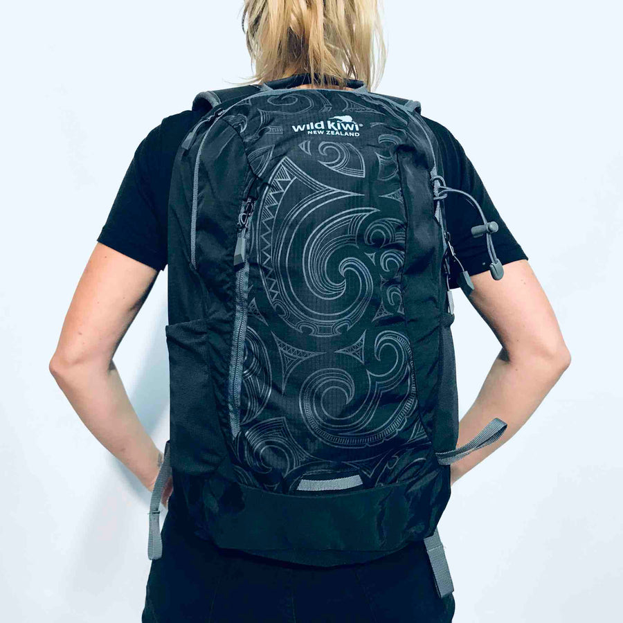 Backpack Maori Design | Wild Kiwi NZ