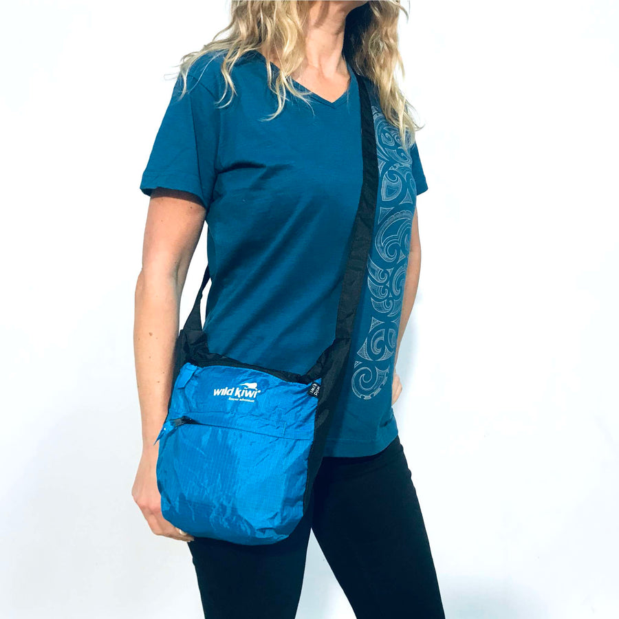 blue-packable-shoulder-bag-wildkiwi-new-zealand