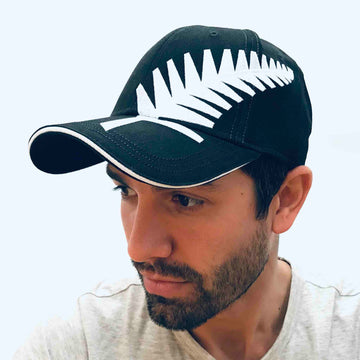 Black Large Fern Cap 301C