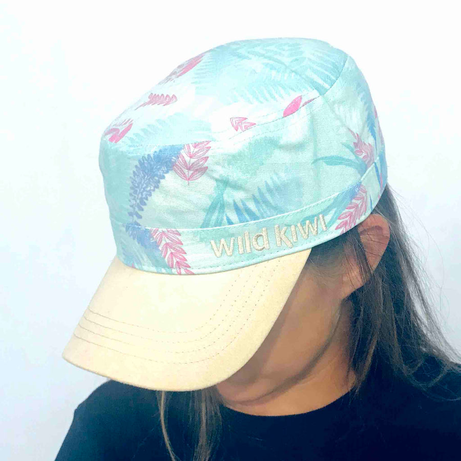 Printed Cap NZ Ferns