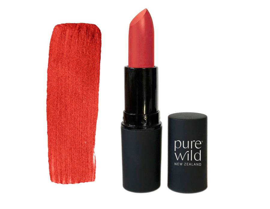 Natural Lipstick. Moana Coral Lipstick. Pure Wild®. Made in New Zealand