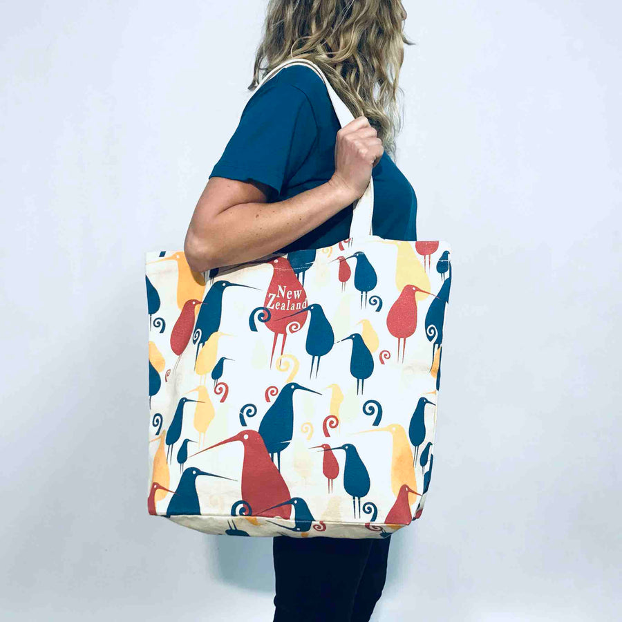 Foldable Tote Bag Kiwi Crowd 470BG