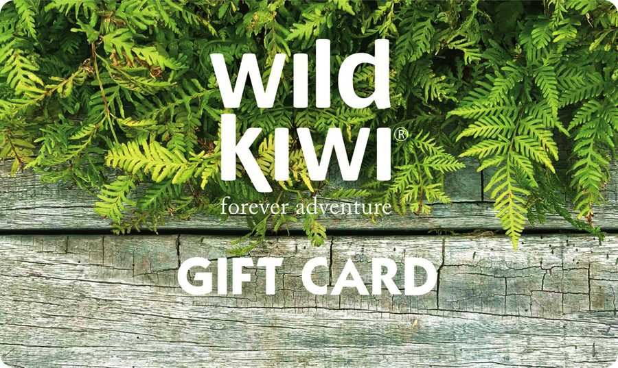 Gift card, for online store, Wild Kiwi New Zealand